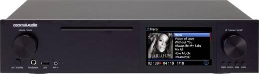 Cocktail Audio X40 Internetradio HiFi-Tuner Schwarz Internetradio, USB