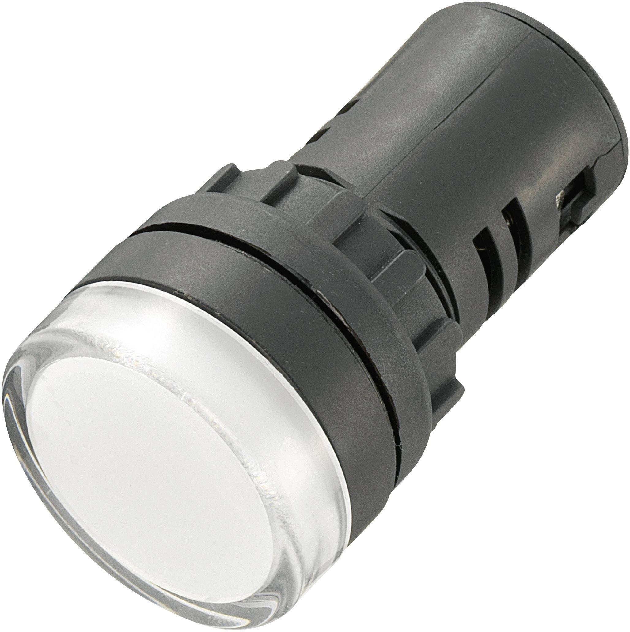LED signalleuchte Kontrolllampe Weiß Grün Gelb Rot Blau AC DC 12V 5 Stück