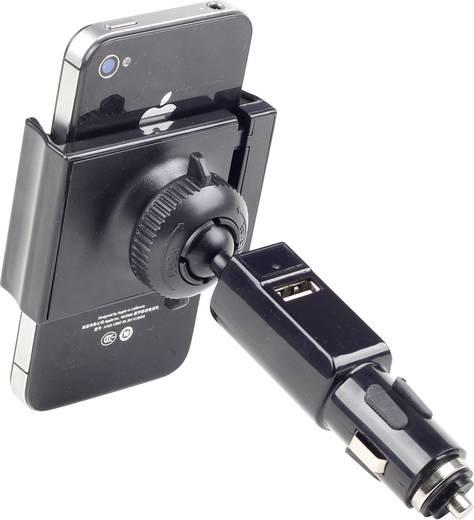 Gembird TA-CH-003 Zigarettenanzünder Handy-Kfz-Halterung mit Ladefunktion 58 - 85 mm