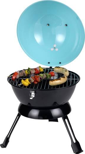 kugel holzkohle grill tepro garten salida grill fl che durchmesser 345 mm t rkis kaufen. Black Bedroom Furniture Sets. Home Design Ideas