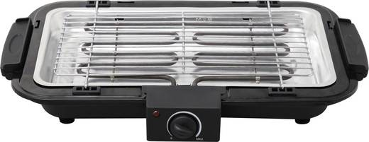 tepro garten louisville tisch elektro grill mit manueller temperatureinstellung schwarz silber. Black Bedroom Furniture Sets. Home Design Ideas