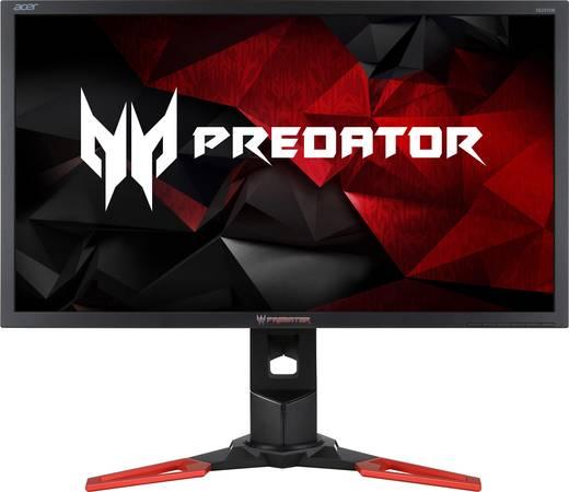 Acer Predator XB281HKbmiprz LED-Monitor 71.1 cm (28 Zoll) EEK C 3840 x 2160 Pixel UHD 2160p (4K) 1 ms HDMI™, USB 3.0, Di