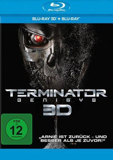 blu-ray 3D Terminator: Genisys 3D FSK: 12