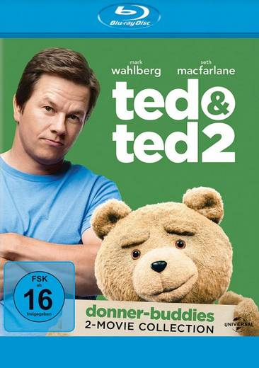 blu-ray Ted & Ted 2 FSK: 16