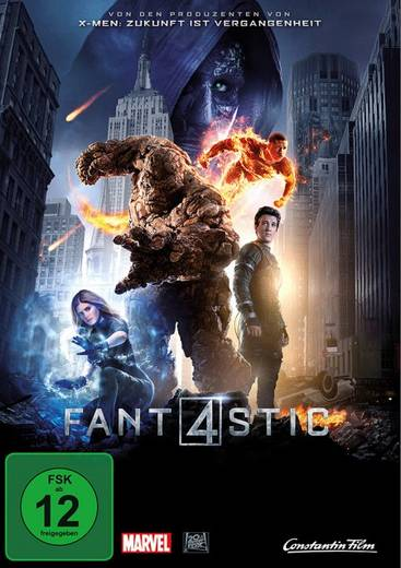 DVD Fantastic Four FSK: 12