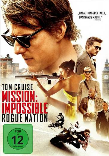DVD Mission: Impossible 5 Rogue Nation FSK: 12