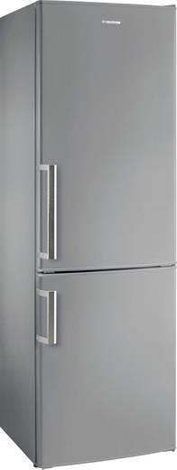 Kühl-Gefrier-Kombination 227 l Hoover HVBS 5174 XH EEK A++ Edelstahl