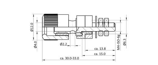 Polklemme Signal-Rot 6 A econ connect AK5SRT 1 St.
