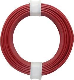 Fil de câblage BELI-BECO D 105/10 rouge 1 x 0.50 mm 10 m