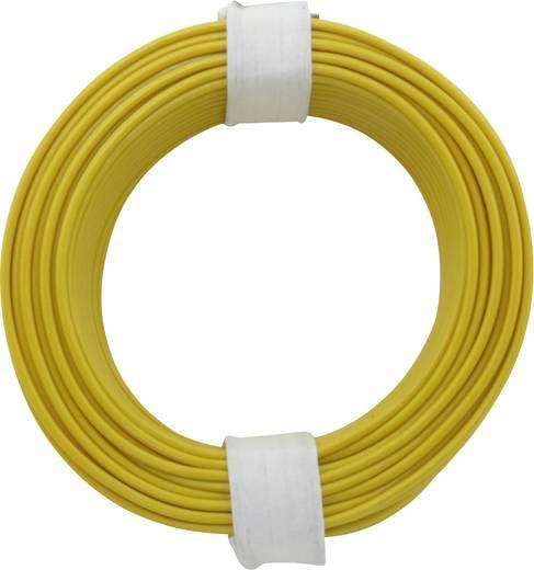 Schaltdraht 1 x 0.20 mm² Gelb BELI-BECO D 105/10 10 m