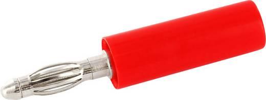Laborstecker Stecker, gerade Stift-Ø: 4 mm Signal-Rot econ connect BS4SRTE 1 St.