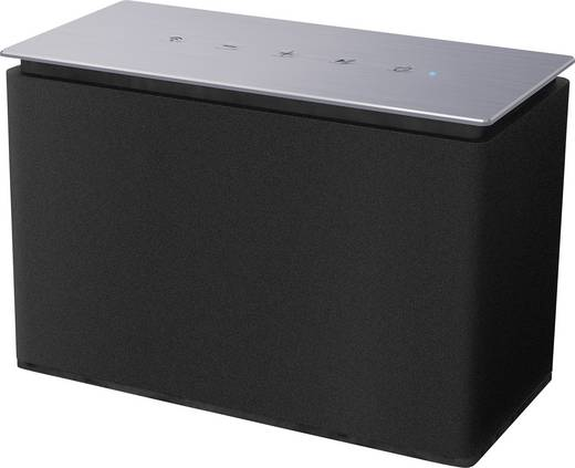 Multiroom Lautsprecher Dyon Area S Bluetooth®, AUX, WLAN, Internetradio Schwarz