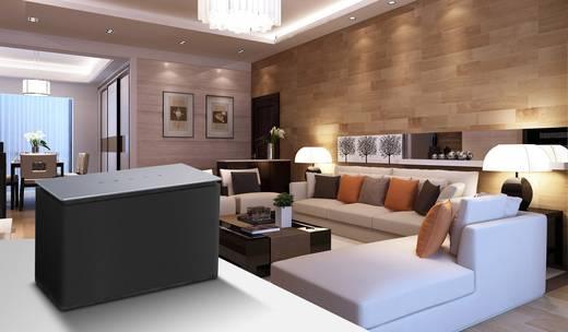 Dyon Area L Multiroom Lautsprecher Bluetooth®, AUX, WLAN, Internetradio Schwarz