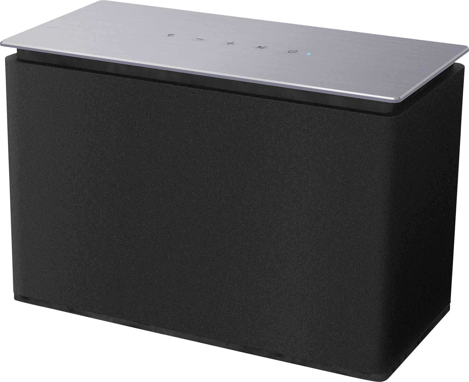 Multiroom Lautsprecher Dyon Area L Bluetooth®, AUX, WLAN, Internetradio  Schwarz