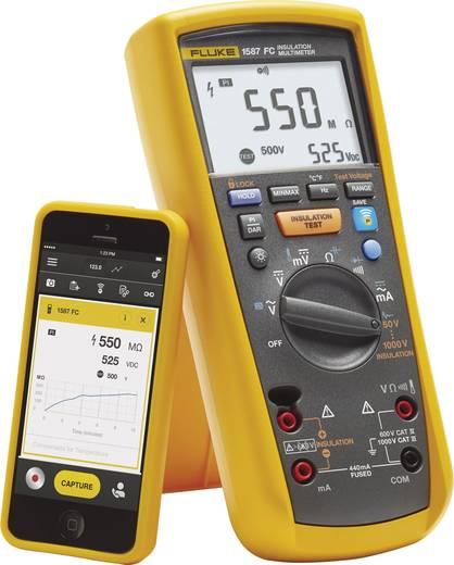 Fluke 1587 FC Isolationsmessgerät 50 V, 100 V, 250 V, 500 V, 1000 V 2 GΩ Kalibriert nach Werksstandard (ohne Zertifikat)
