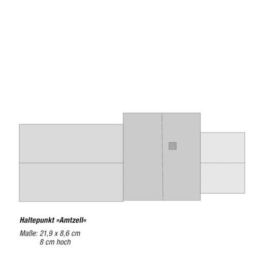 """NOCH 0066001 H0 Haltepunkt """"Amtzell"""""""