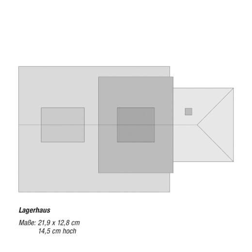 NOCH 0066110 H0 Lagerhaus