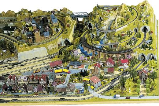 H0 Vorfeld rechts NOCH 0080131 Schattenbahnhof Passend für: Silvretta