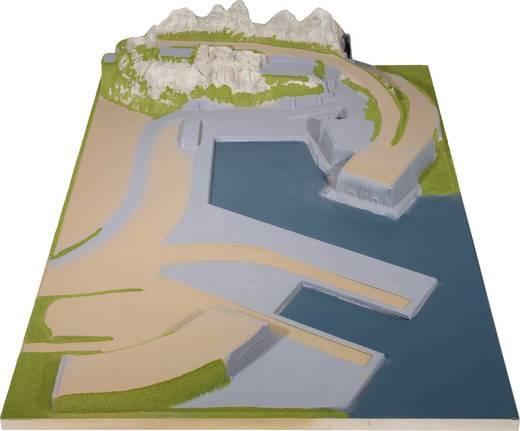 H0 Anbauteil rechts NOCH 0080140 Industriehafen Passend für: Silvretta H0 Märklin C-Gleis (mit Bettung), H0 Märklin K-Gl