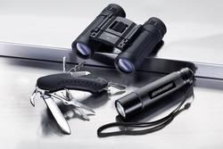Dalekohled + multifunkční nůž + kapesní svítilna Alpina Sport Outdoor-Set 2.1119, 8 x, černá