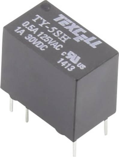 Texcell TY-5SH Printrelais 5 V/DC 2 A 1 Wechsler 1 St.