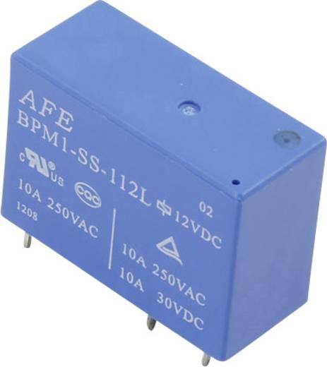 Printrelais 12 V/DC 10 A 1 Wechsler AFE BPM1-SS-112L 1 St.