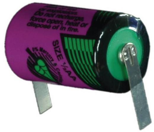 Tadiran Batteries SL 350 T Spezial-Batterie 1/2 AA U-Lötfahne Lithium 3.6 V 1200 mAh 1 St.