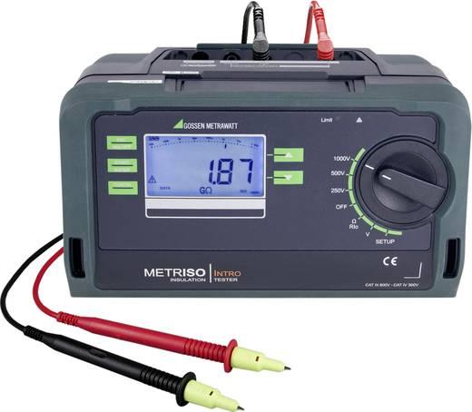 Gossen Metrawatt Metriso Intro Isolationsmessgerät 250 V, 500 V, 1000 V 10 GΩ Kalibriert nach Werksstandard (ohne Zertif