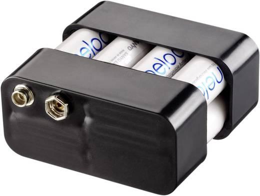 Gossen Metrawatt Z502H Kompakt Akku-Pack verschweißt, bestehend aus 8 wiederaufladbaren Akkus in zwei Kunststoffkappen
