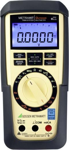 Gossen Metrawatt METRAHIT OUTDOOR Hand-Multimeter Kalibriert nach DAkkS digital CAT III 1000 V, CAT IV 600 V Anzeige (C