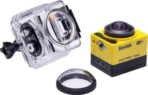 Kodak PIXPRO Pixpro SP360 Aqua Pixpro SP360 Aqua Action Cam Full-HD, 360°, Frostbeständig, Stoßfest, Staubgeschützt, Was