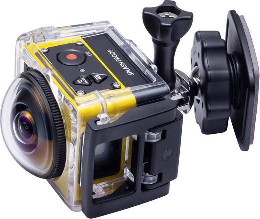 Action Cam Kodak PIXPRO Pixpro SP360 Explorer Pixpro SP360 Explorer Full-HD, 360°, Frostbeständig, Stoßfest, Staubgeschü