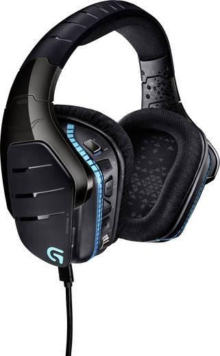 Gaming Headset USB, 3.5 mm Klinke schnurgebunden Logitech Gaming G633 Artemis Spectrum Over Ear Schwarz