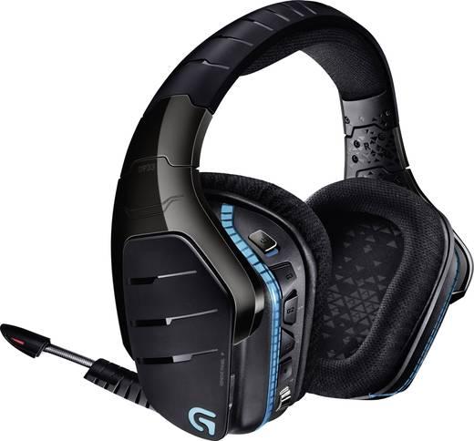 Gaming Headset USB, 3.5 mm Klinke schnurlos Logitech Gaming G933 Artemis Spectrum Over Ear Schwarz