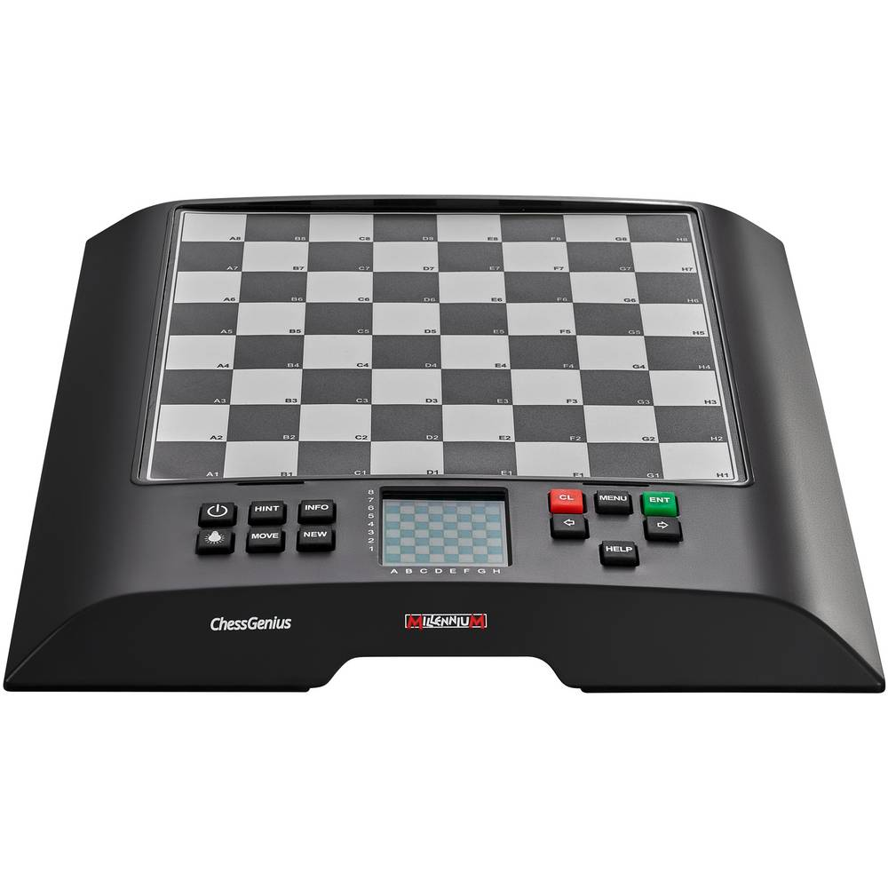 jeu d 39 checs lectronique millennium chess genius noir sur le site internet conrad 1405875. Black Bedroom Furniture Sets. Home Design Ideas