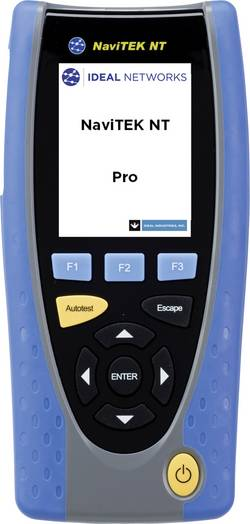 Síťový a ověřovací tester a měřič délky kabelu IDEAL Networks NaviTEK NT Pro
