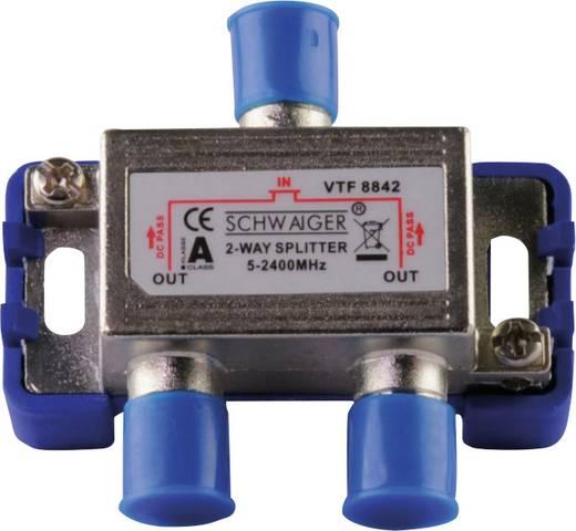 SAT-Verteiler Schwaiger VTF8842 241 2-fach 5 - 2400 MHz