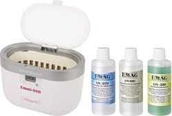 Ultrazvukový čistič vč. čisticího koncentrátu Emag 0.6 l, (LxBxT)160 x 90 x 50 mm, 50 W