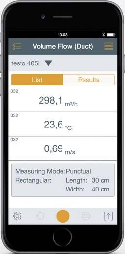 testo 405i Smart Probes Anemometer 30 bis 0 m/s