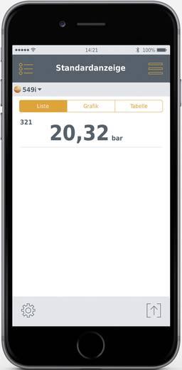 testo 549i Smart Probes Druck-Messgerät 60 - -1 bar