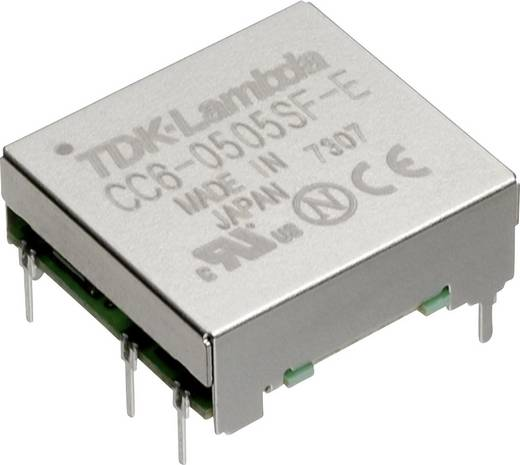 TDK-Lambda CC-6-0505SF-E DC/DC-Wandler, Print 5 V/DC 5 V/DC 1 A 6 W Anzahl Ausgänge: 1 x