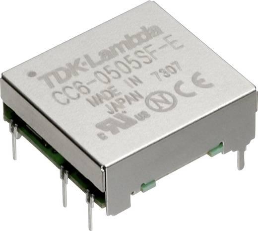 TDK-Lambda CC-6-4812SF-E DC/DC-Wandler, Print 48 V/DC 12 V/DC, 15 V/DC 0.5 A 6 W Anzahl Ausgänge: 1 x