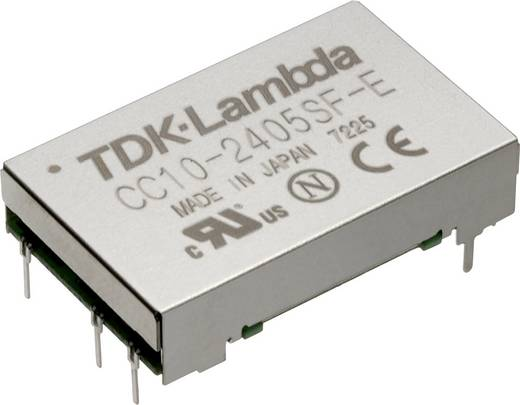 TDK-Lambda CC-10-4812DF-E DC/DC-Wandler, Print 48 V/DC -12 V/DC, 12 V/DC, 15 V/DC 0.45 A 10 W Anzahl Ausgänge: 1 x