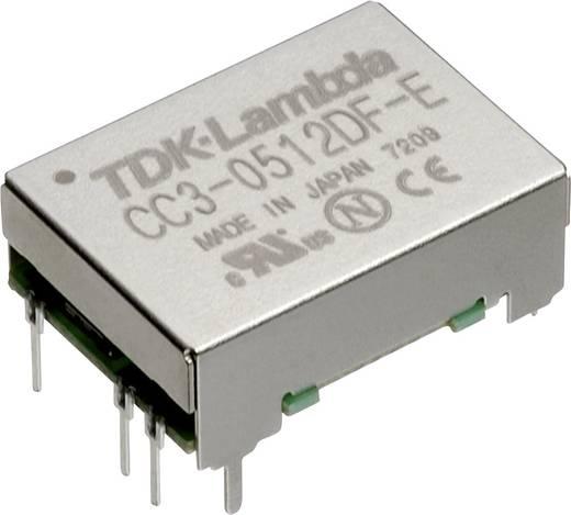 TDK-Lambda CC-3-2412DF-E DC/DC-Wandler, Print 24 V/DC -12 V/DC, 12 V/DC, 15 V/DC 0.125 A 3 W Anzahl Ausgänge: 2 x