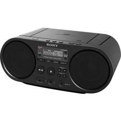 DAB+ rádio s CD prehrávačom Sony ZS-PS55B, AUX, CD, USB, čierna