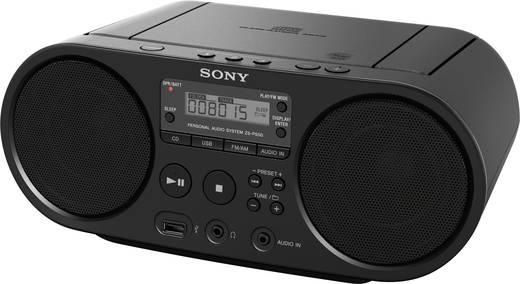 Sony ZS-PS55B DAB+ CD-Radio AUX, CD, USB Schwarz