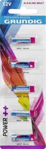 Grundig MN27 Spezial-Batterie 27 A Alkali-Mangan 12 V 5 St.