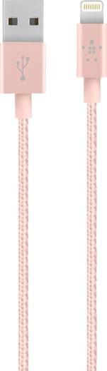 Belkin iPad/iPhone/iPod Datenkabel/Ladekabel [1x USB 2.0 Stecker A - 1x Apple Lightning-Stecker] 1.2 m Roségold