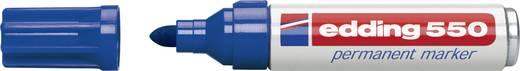 Edding Permanentmarker edding 550 Blau wasserfest: Ja 4-550003