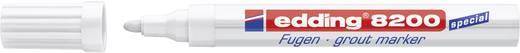 edding Fugenmarker E-8200, weiß